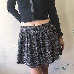 Free People | Gray  Holly Go Lightly Mini Skirt